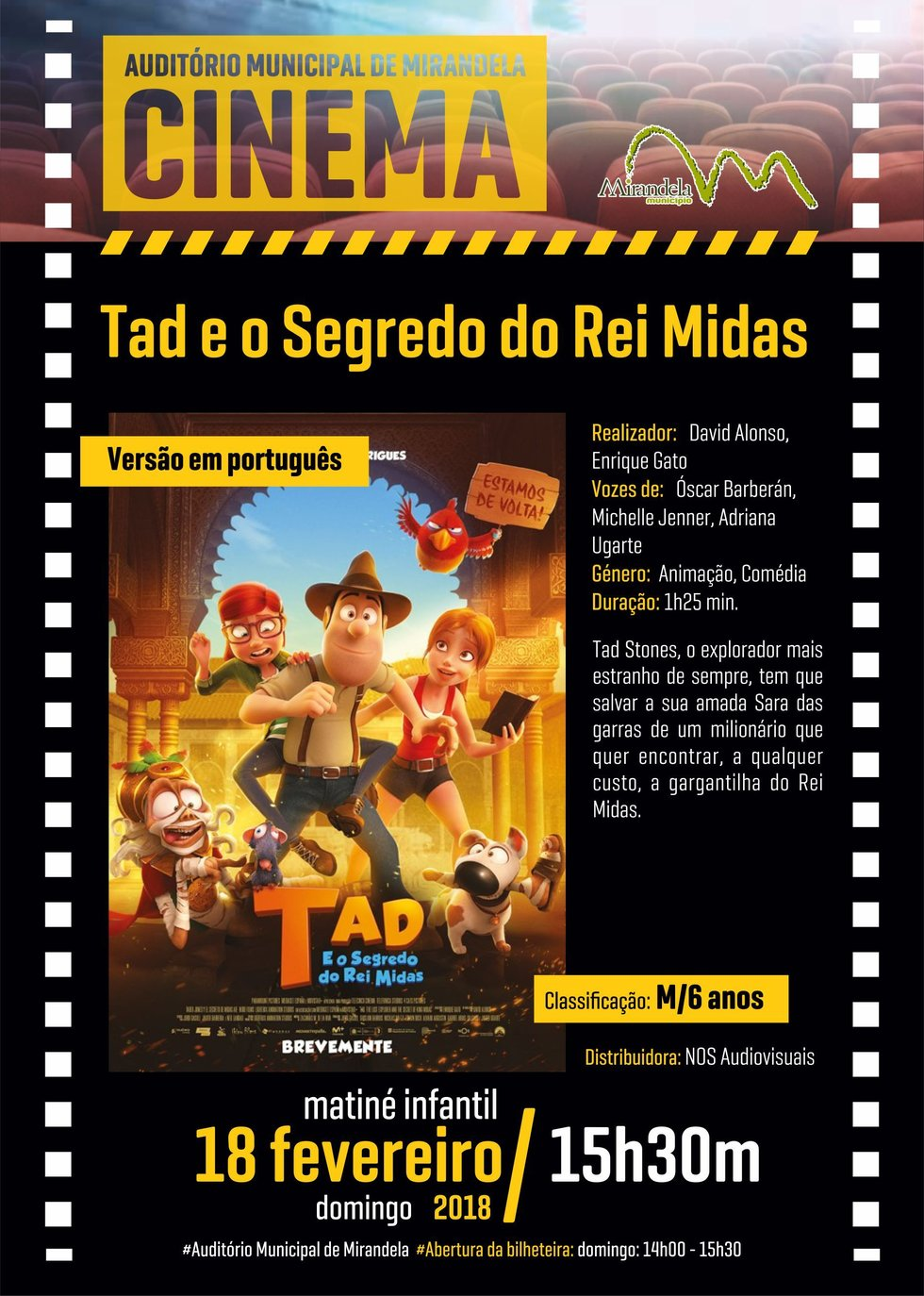 Cartaz filme tad e o segredo do rei midas 18 1 980 2500